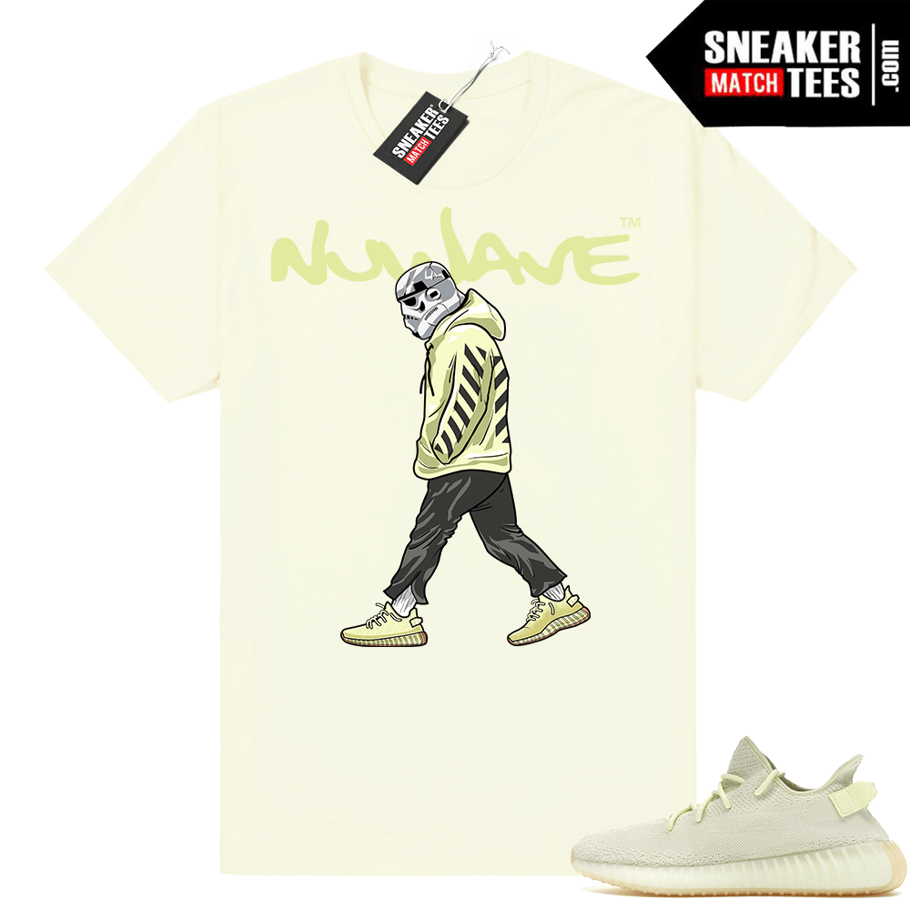 Yeezy Boost 350 Butter shirt to match