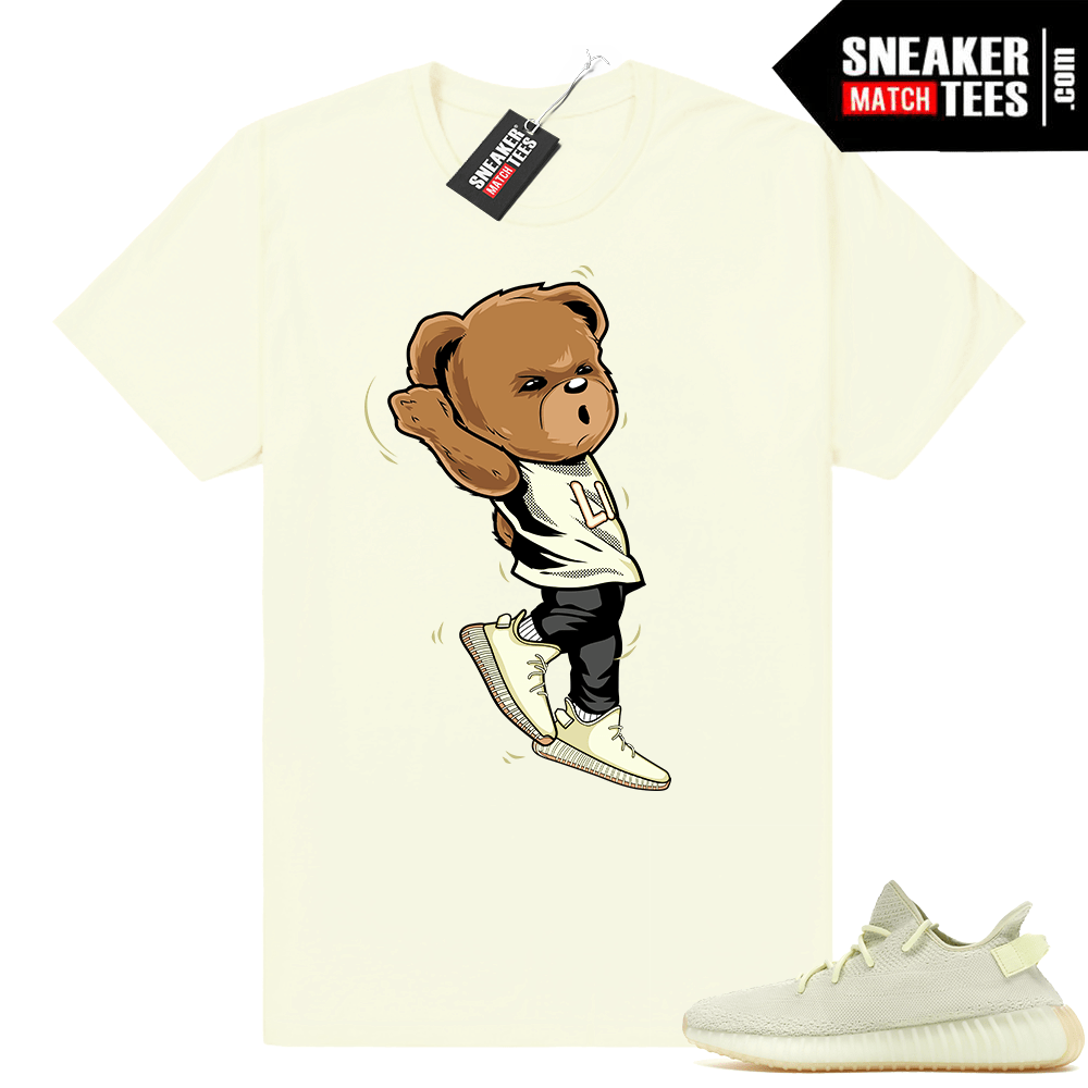 2a2c5c6d9edfe Yeezy Boost Butter bear shirt - Sneaker Match Tees