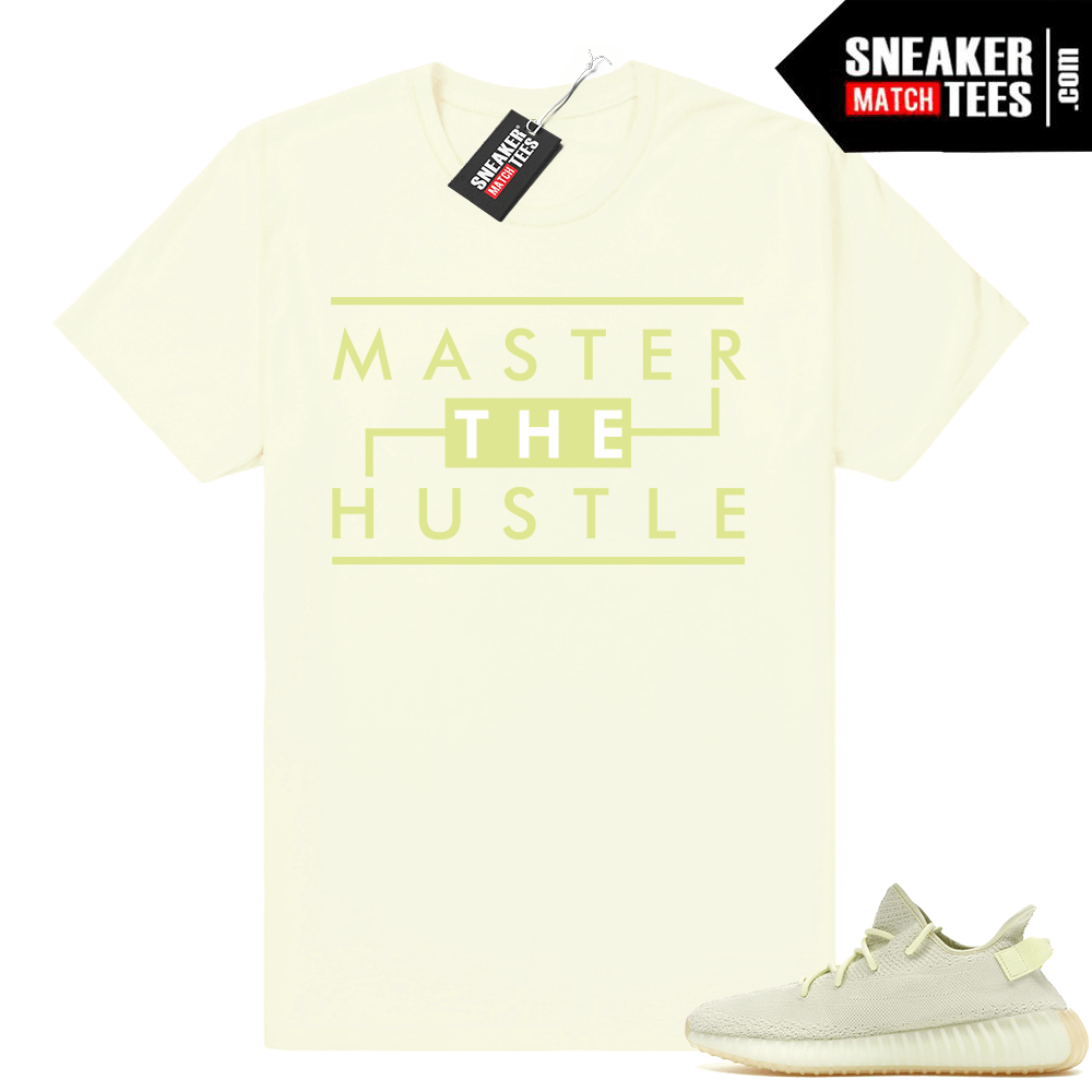 Yeezy Butter matching t shirt