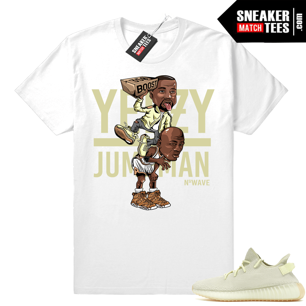 Yeezy Over Jumpman Butter Yeezys shirt