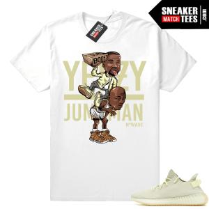 Yeezy Over Jumpman Butter Yeezys shirt