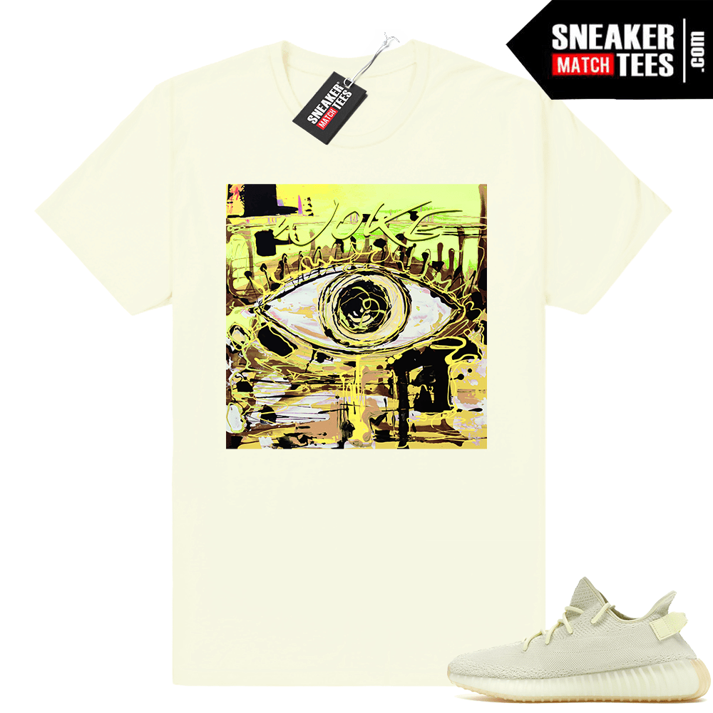 8631d09a803 Yeezy boost 350 Butter matching t shirt - Sneaker Match Tees