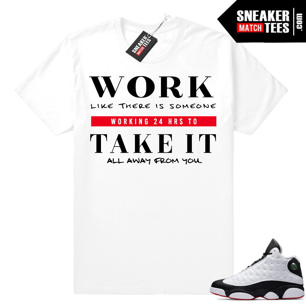 Air Jordan 13 He Got Game Shirts