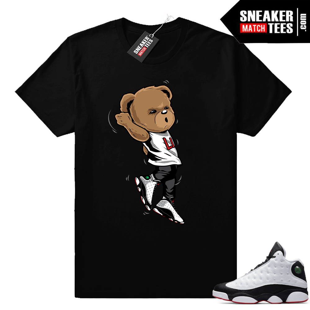 Air Jordan 13 He got Game shirt black