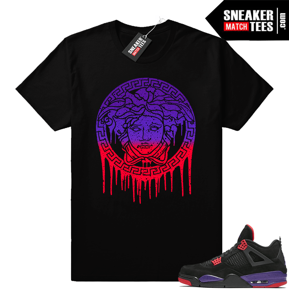 Air Jordan 4 Court Purple Raptors shirt