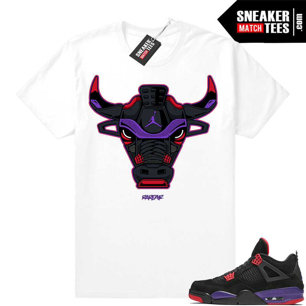 f8a3688ae72b0a Air Jordan 4 Raptors Sneaker shirt clothing - Sneaker Match Tees