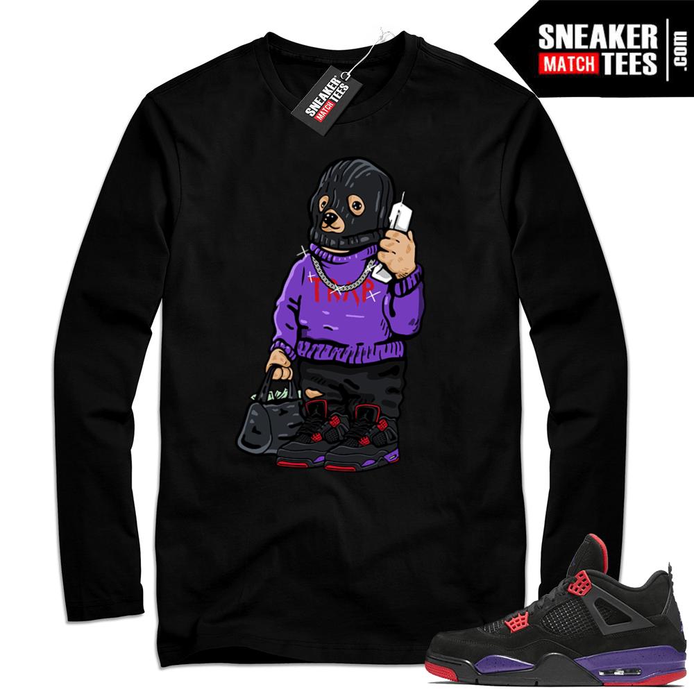 12af3e27 Air Jordan 4 Raptors Sneakers Shirt Releases - Sneaker Match Tees