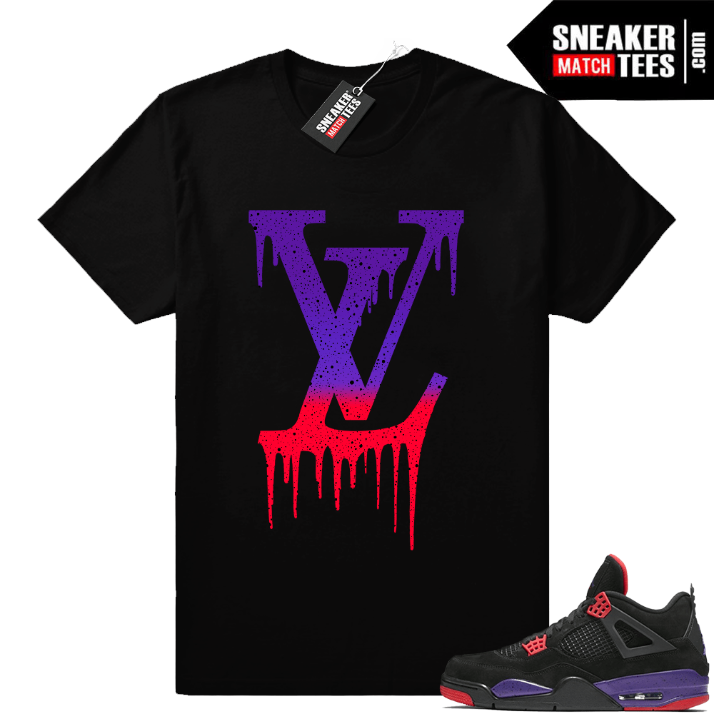 Air Jordan 4 sneaker tees Raptors