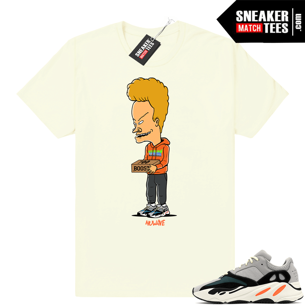 Beavis Wyoming Yeezy Boost 700 Wave runner Shirt