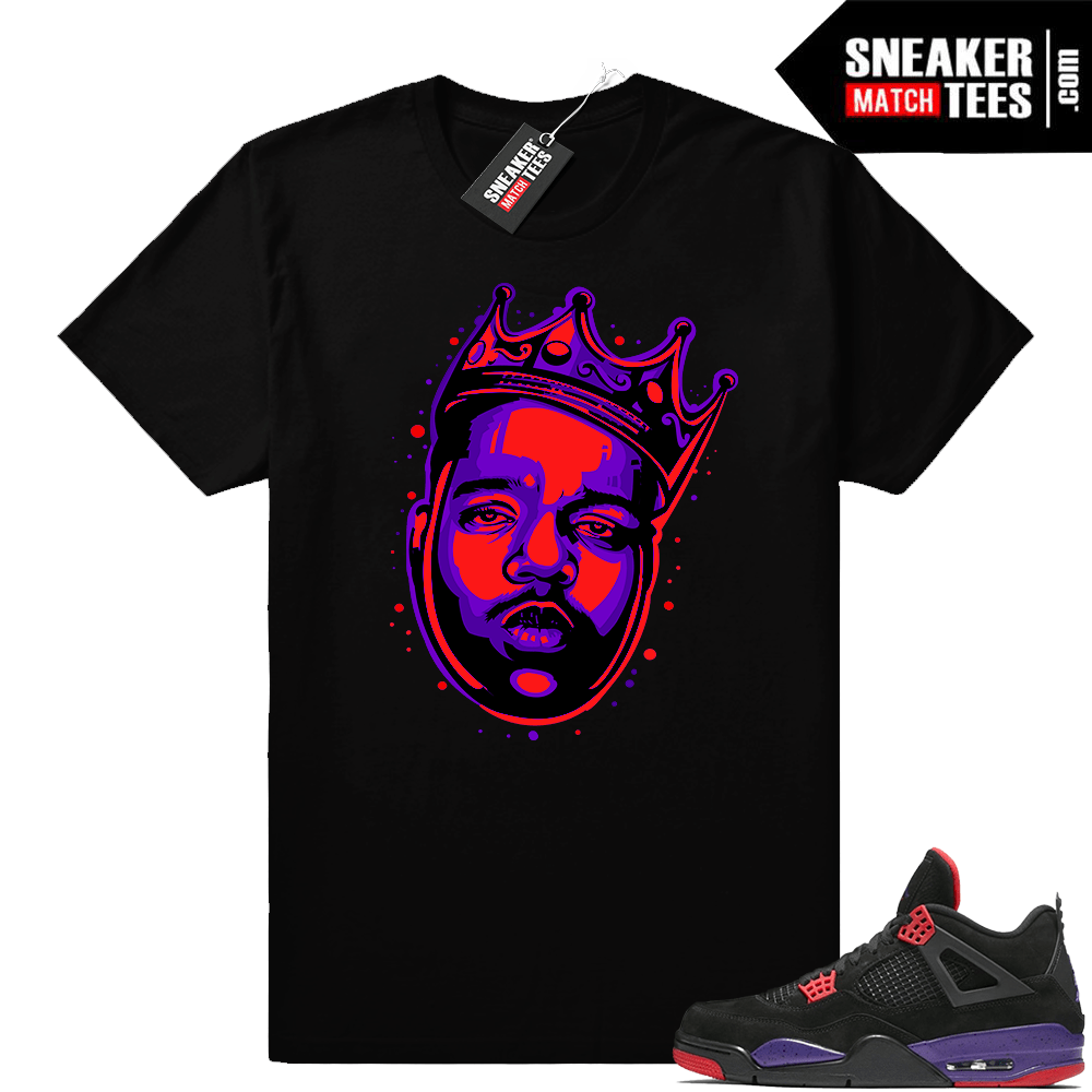 Biggie Raptor 4s shirt