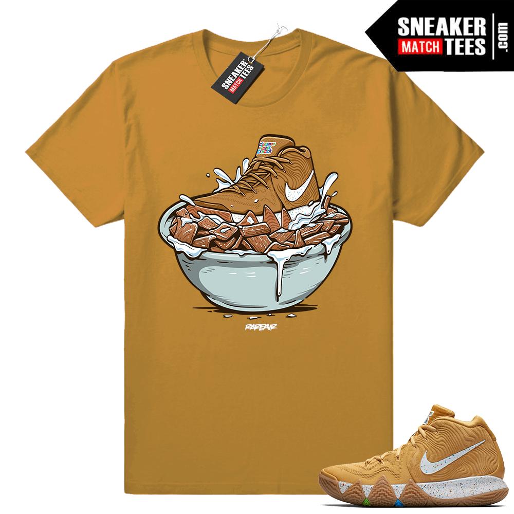 new style ea9a0 74d3b Cinnamon Toast Crunch Kyrie 4 shirt • Cinnamon Toast Crunch Bowl • Wheat tee