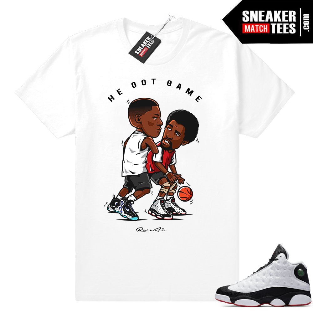He Got Game 13 shirt