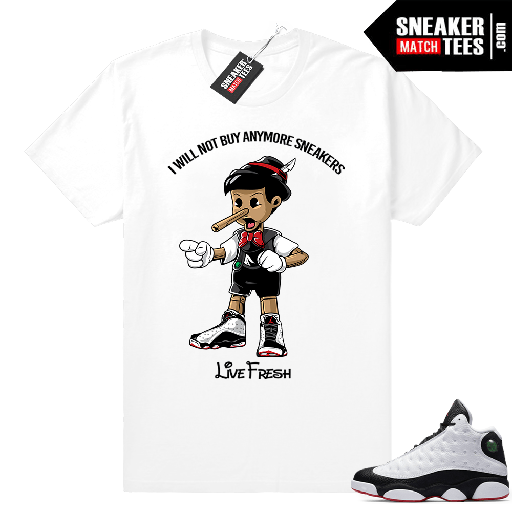 Jordan 13 He Got Game Matching shirt