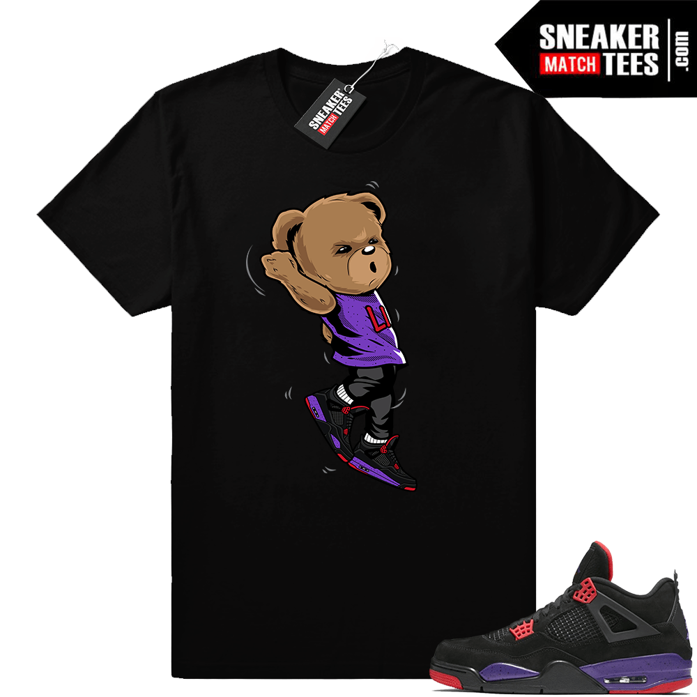 Jordan 4 Court Purple Sneaker Match Tees