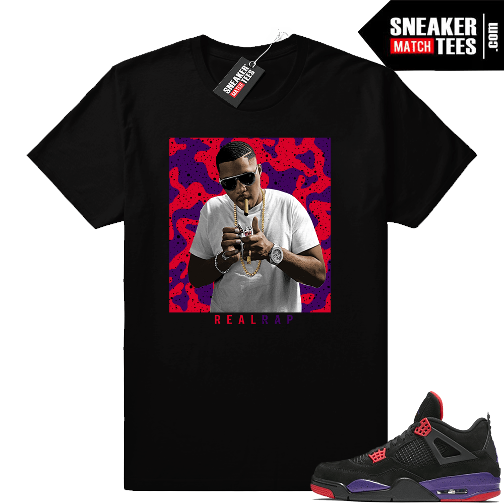 Jordan 4 Raptors Nas Real Rap shirt