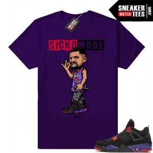 Jordan 4 Raptors sneaker tees