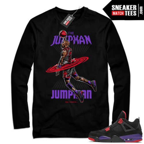 Jordan Retro 4 Long Sleeve tee shirt