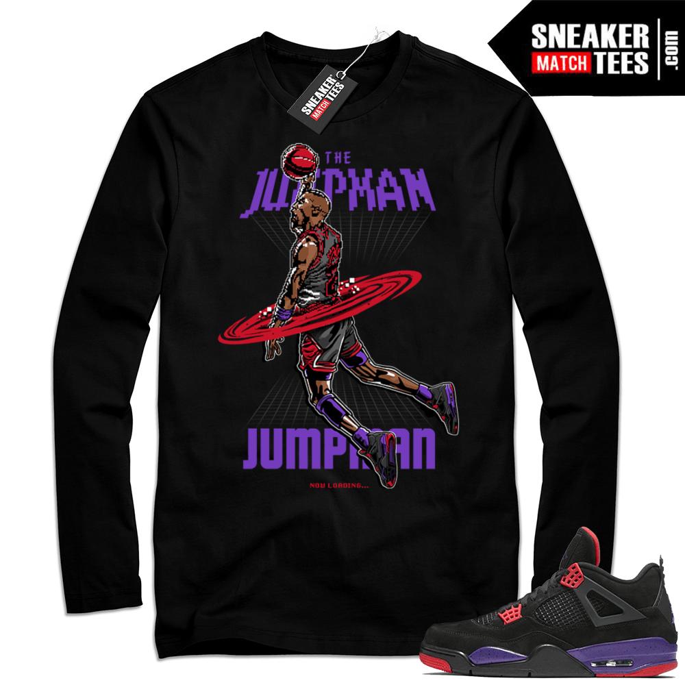 404c02f53d318f Jordan Retro 4 Long Sleeve tee shirt   Air Jordan 4
