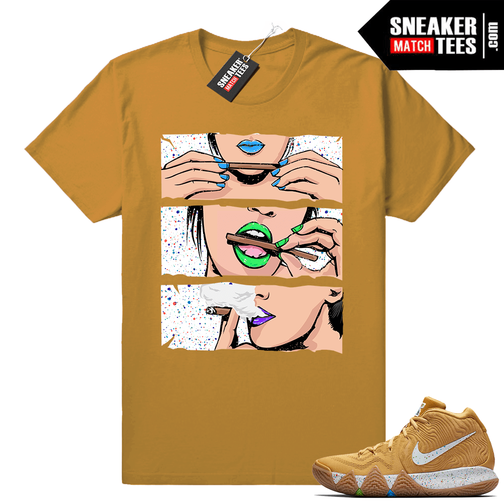 8c625afa3ce0 Kyrie 4 Cereal pack shirts - Sneaker Match Tees
