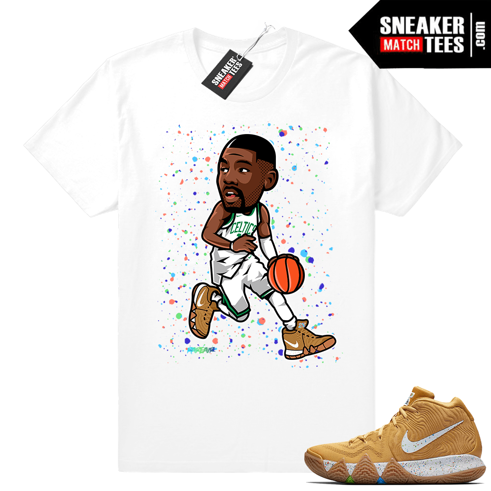 e85b2f333722 Kyrie 4 Cinnamon Toast Crunch match shirt - Sneaker Match Tees