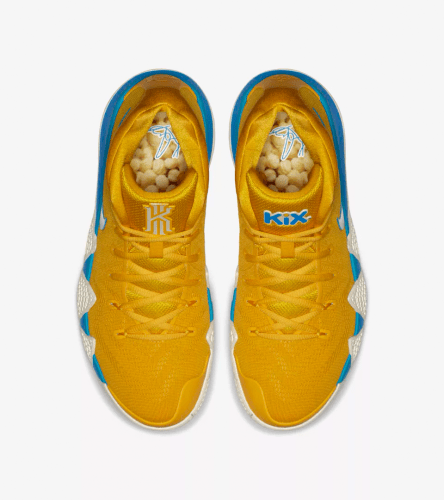 Kyrie 4 Kix Cereal Pack Sneaker and Shirts to match 8deadf6ff