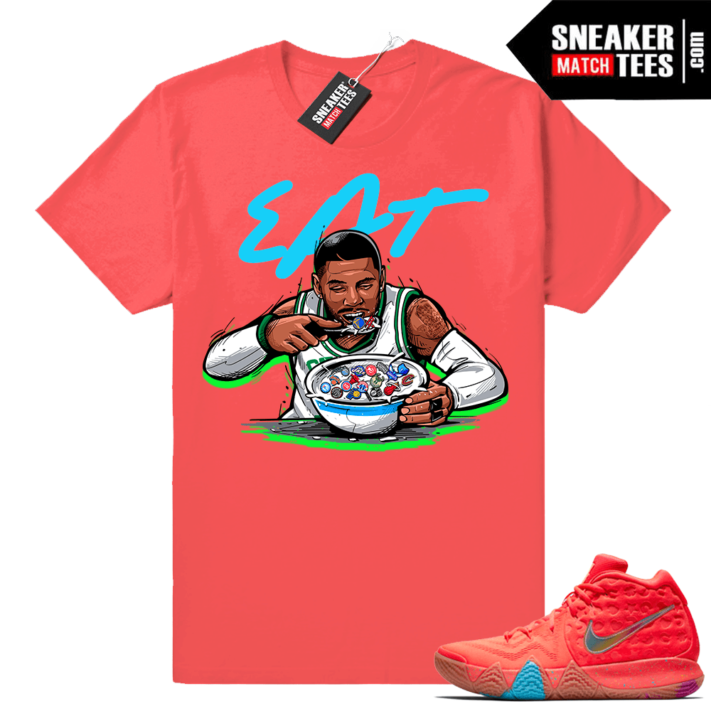 Kyrie 4 Lucky Charms Cereal Pack shirt