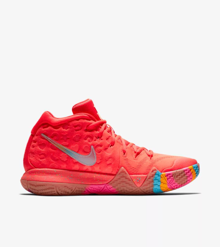 buy popular 13798 890fb Kyrie 4 Lucky Charms Cereal Pack Shirt releases - Sneaker ...