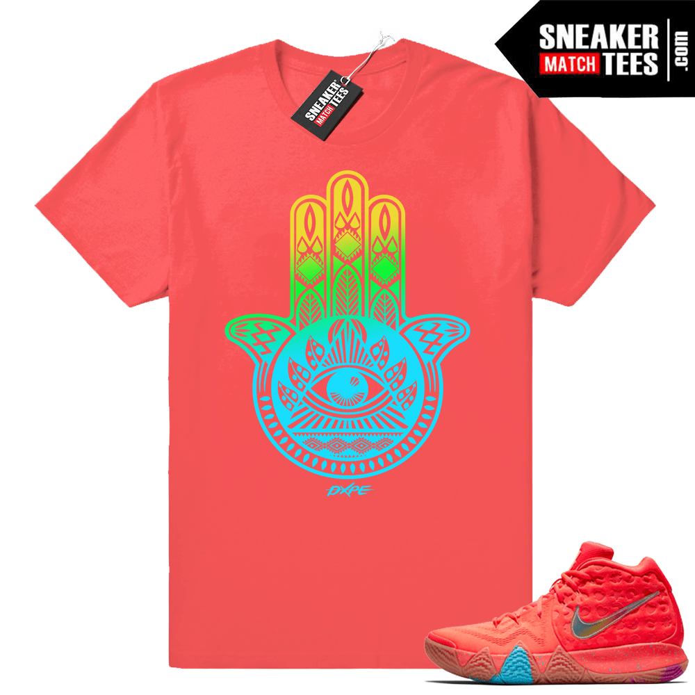 Lucky Charms Kyrie 4 shirt match