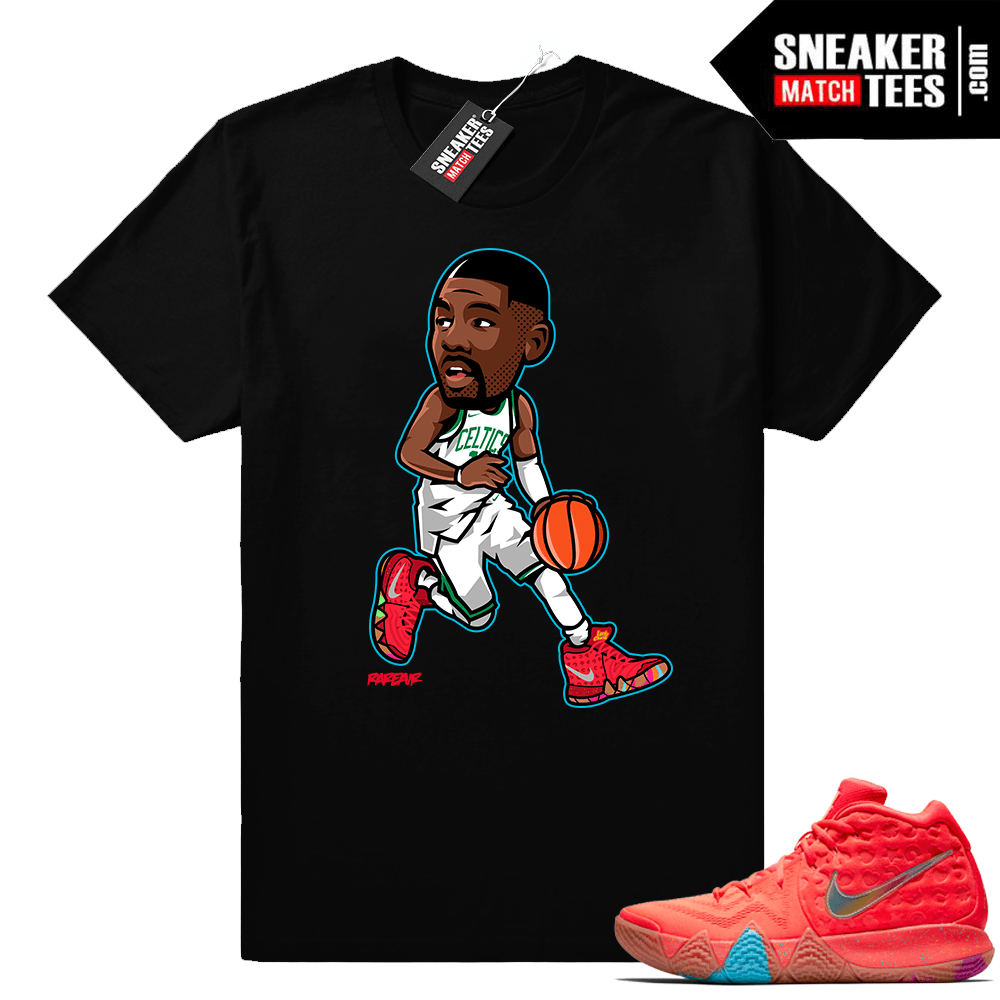 buy popular b9bfd 24638 Kyrie 4 Lucky Charms Cereal Pack Shirt releases - Sneaker ...