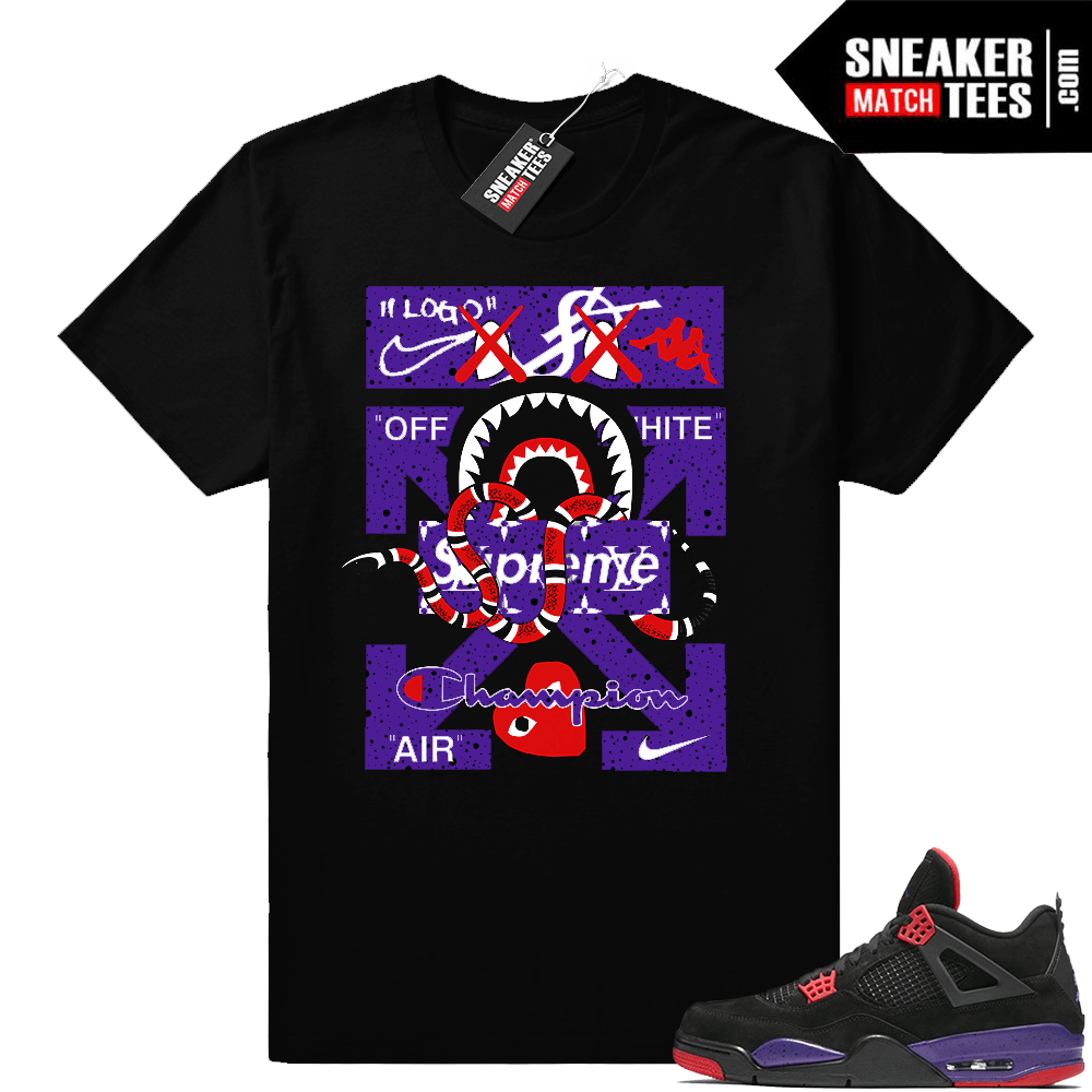 Raptor 4s matching t shirt