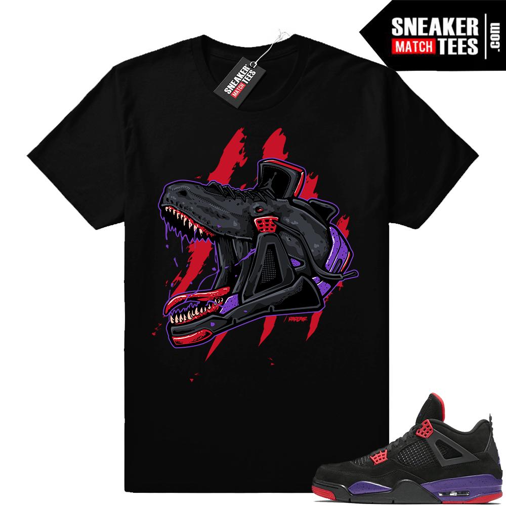 3903d9f6ae3ae3 Raptors Jordan 4 shirts - Sneaker Match Tees