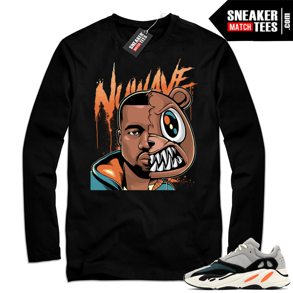 Wave Runner 700 Kanye Bear Long Sleeve shirt