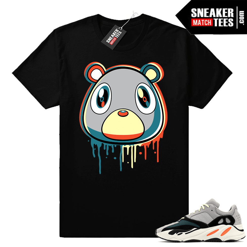 Yeezy Bear Drip Shirt Wave runner 700