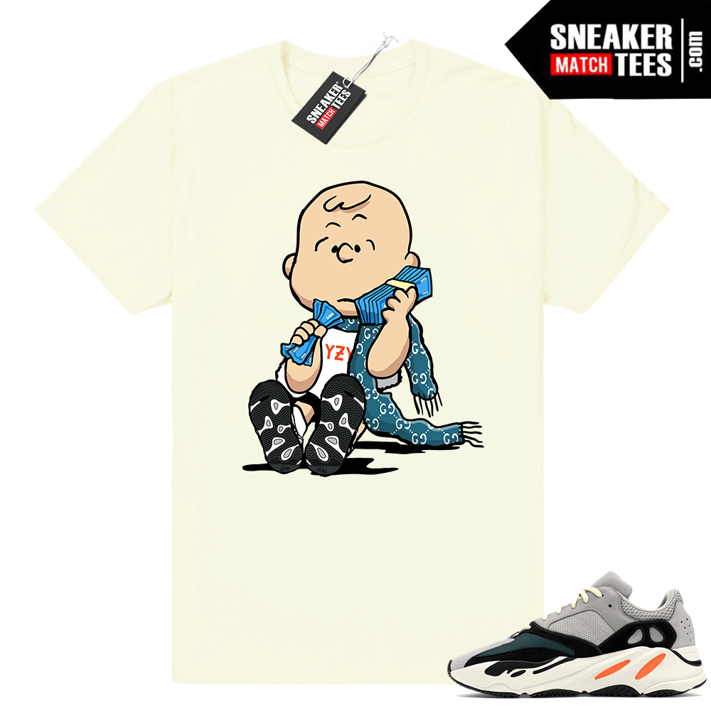 on sale 4bfe6 e0c44 Yeezy Boost 700 Wave Runner shirt • Designer Van Pelt • Butter Tee