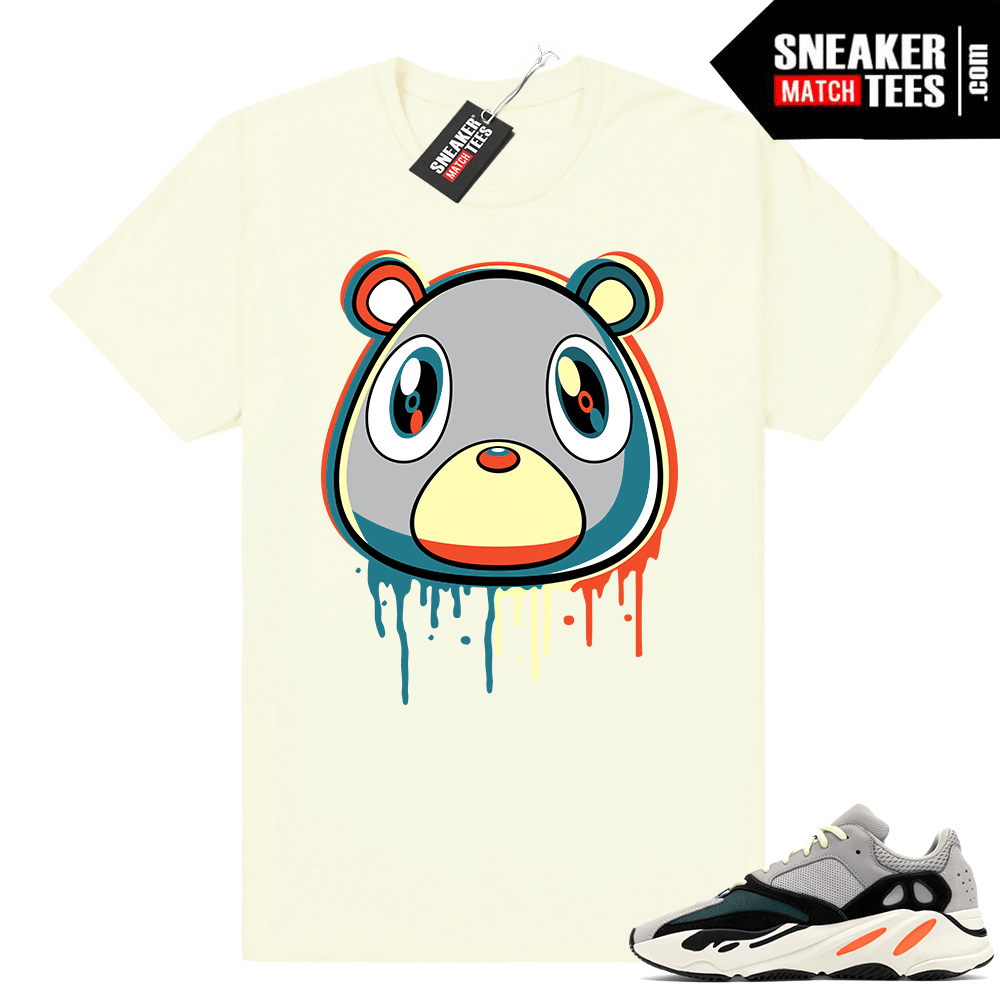 Yeezy bear Wave Runner 700 shirt