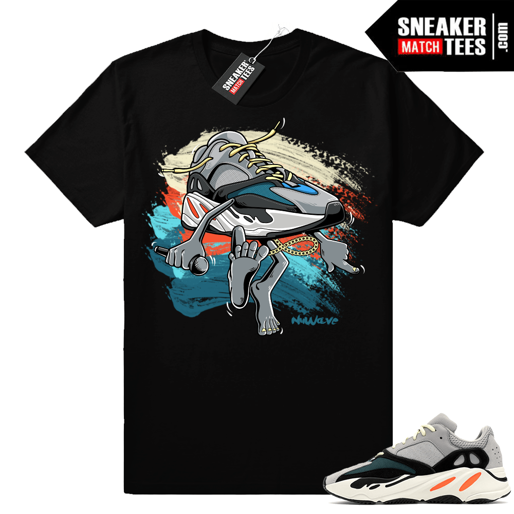 Yeezy t shirt match Wave Runner 700