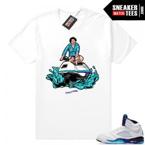 db497927a086a1 Air Jordan 5 Grape sneaker tees