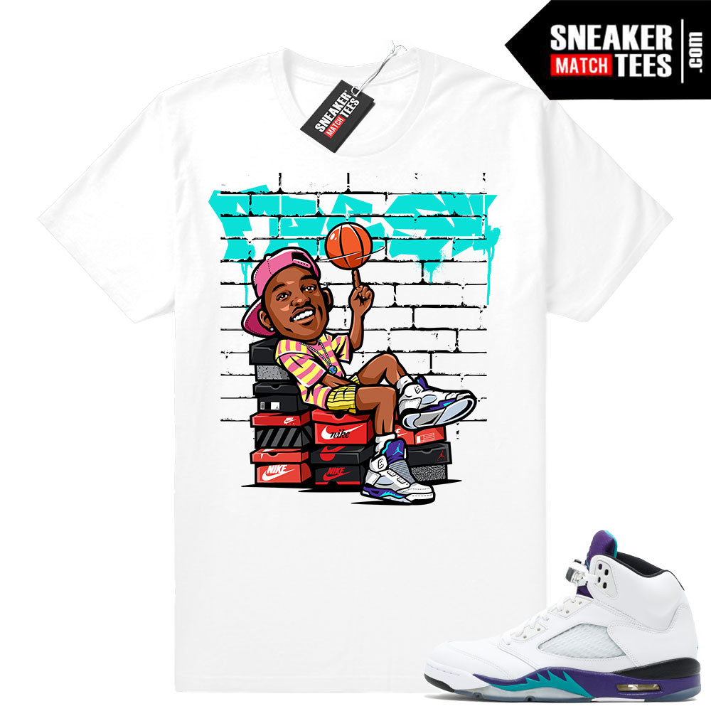 7b029bce2ed Grape 5s Matching t shirt Jordan retros | Sneaker Match Tees