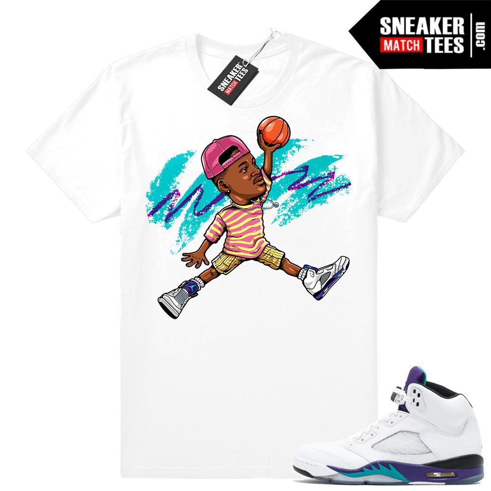a9cdeb64d7a007 Grape 5s T shirt Matching Outfits
