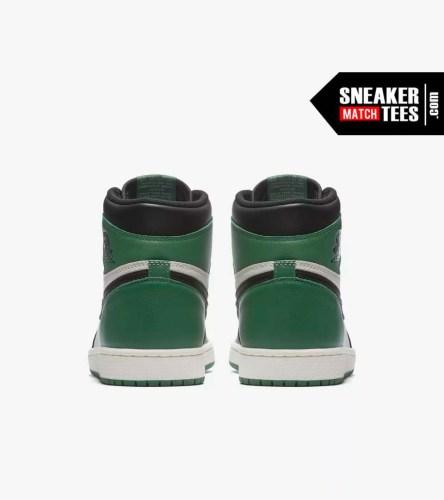 Jordan 1 Pine Green Shirts match sneakers (5)