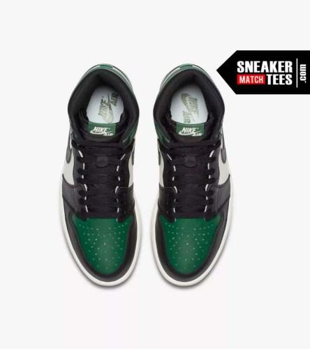 Jordan 1 Pine Green Shirts match sneakers (6)
