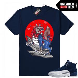 cb07a54a62e9 Air Jordan 12 shirts sneaker tees to match Jordan 12 Japan