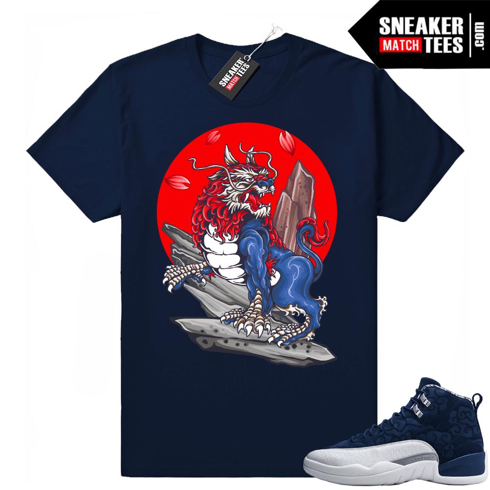 a0e7638b0a9 Jordan 12 Japan Sneaker tee shirts