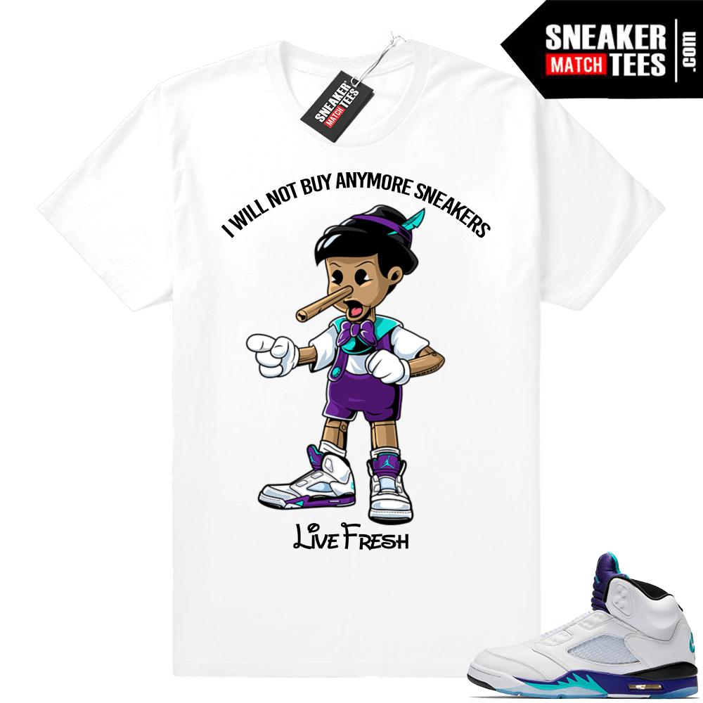 Jordan Grape Shirt match