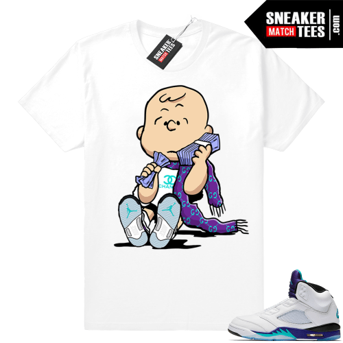 Jordan Grape sneaker shirts