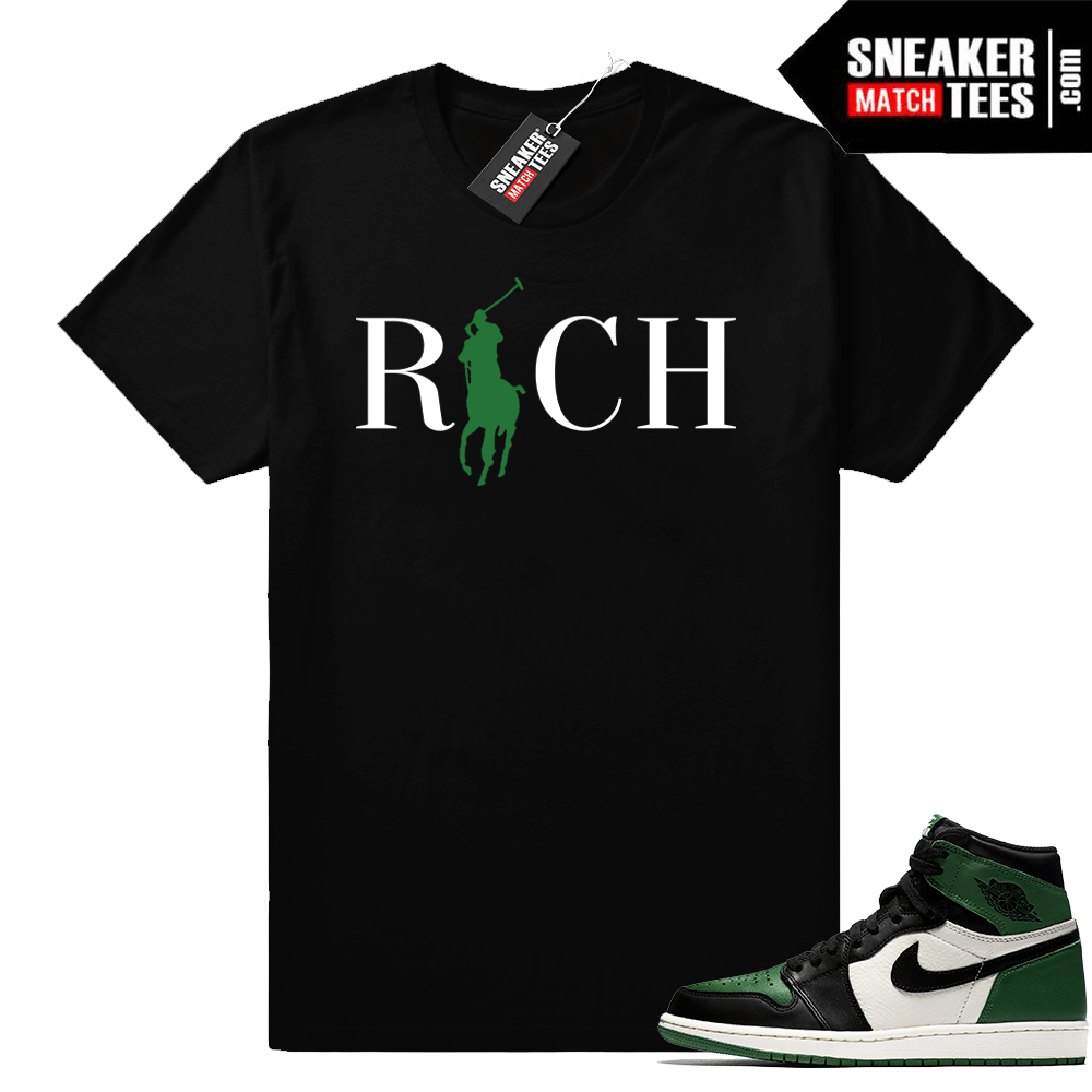 483901f48fa9 Match Jordan 1 Pine Green shirt