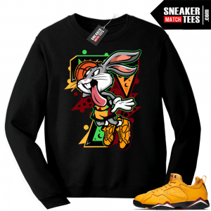 Match Jordan 7 low Taxi sweatshirt