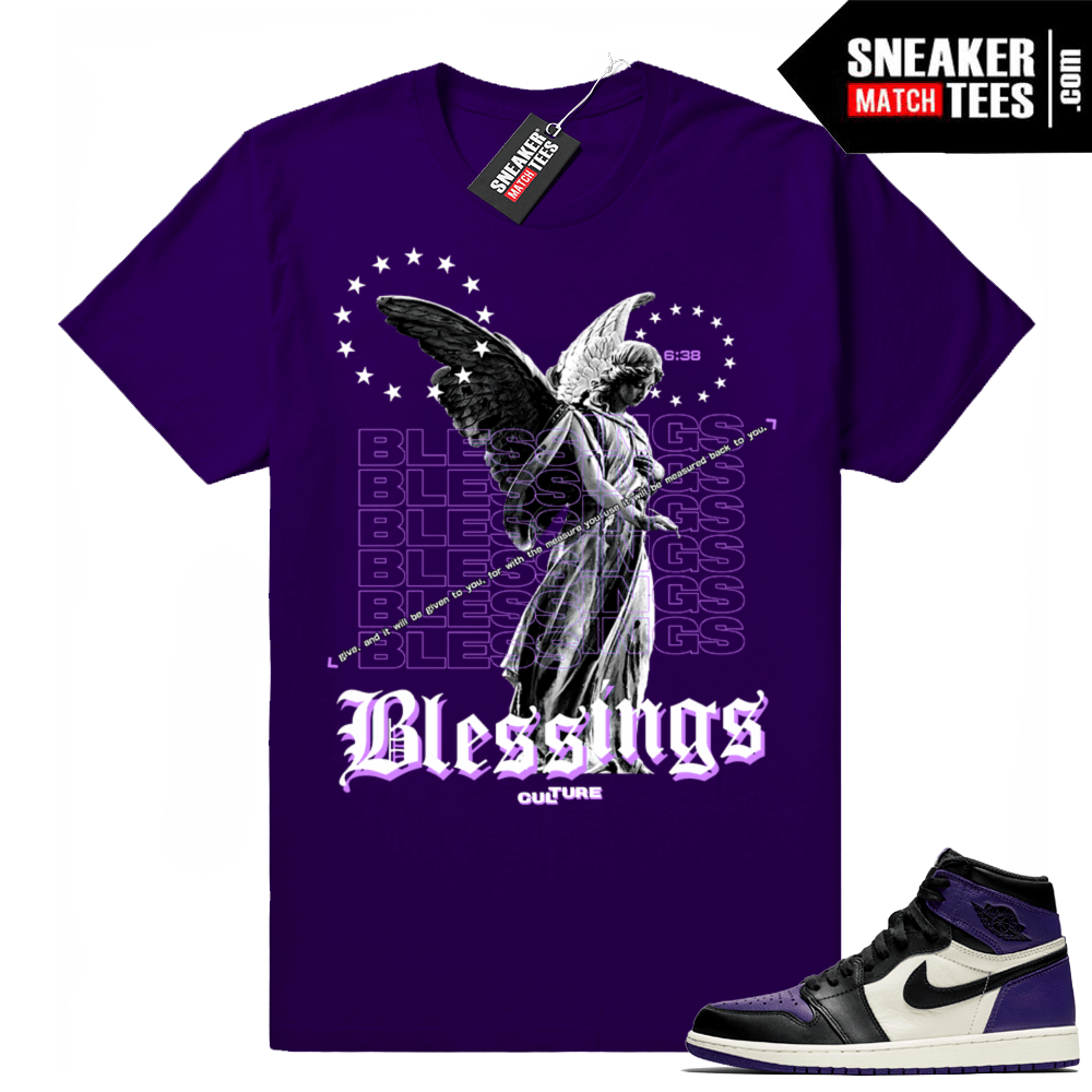 Match Retro 1 sneaker tees