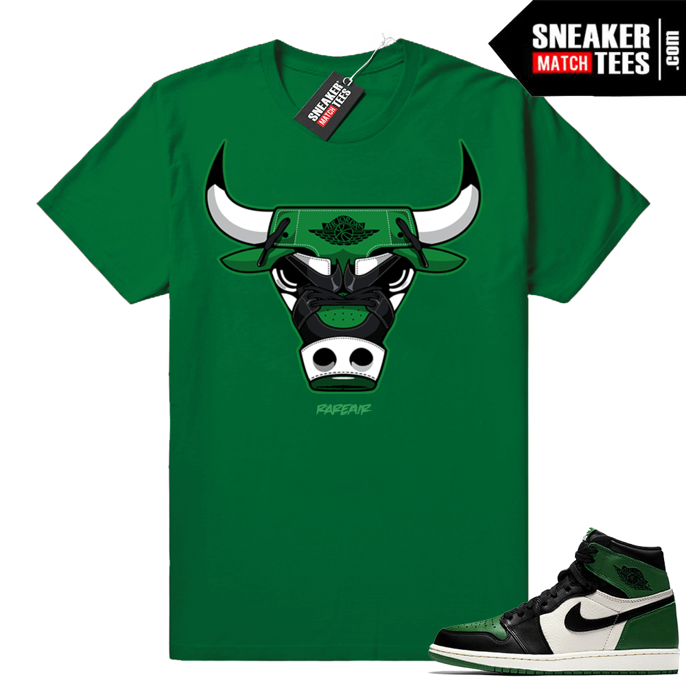 Pine Green 1s sneaker clothing