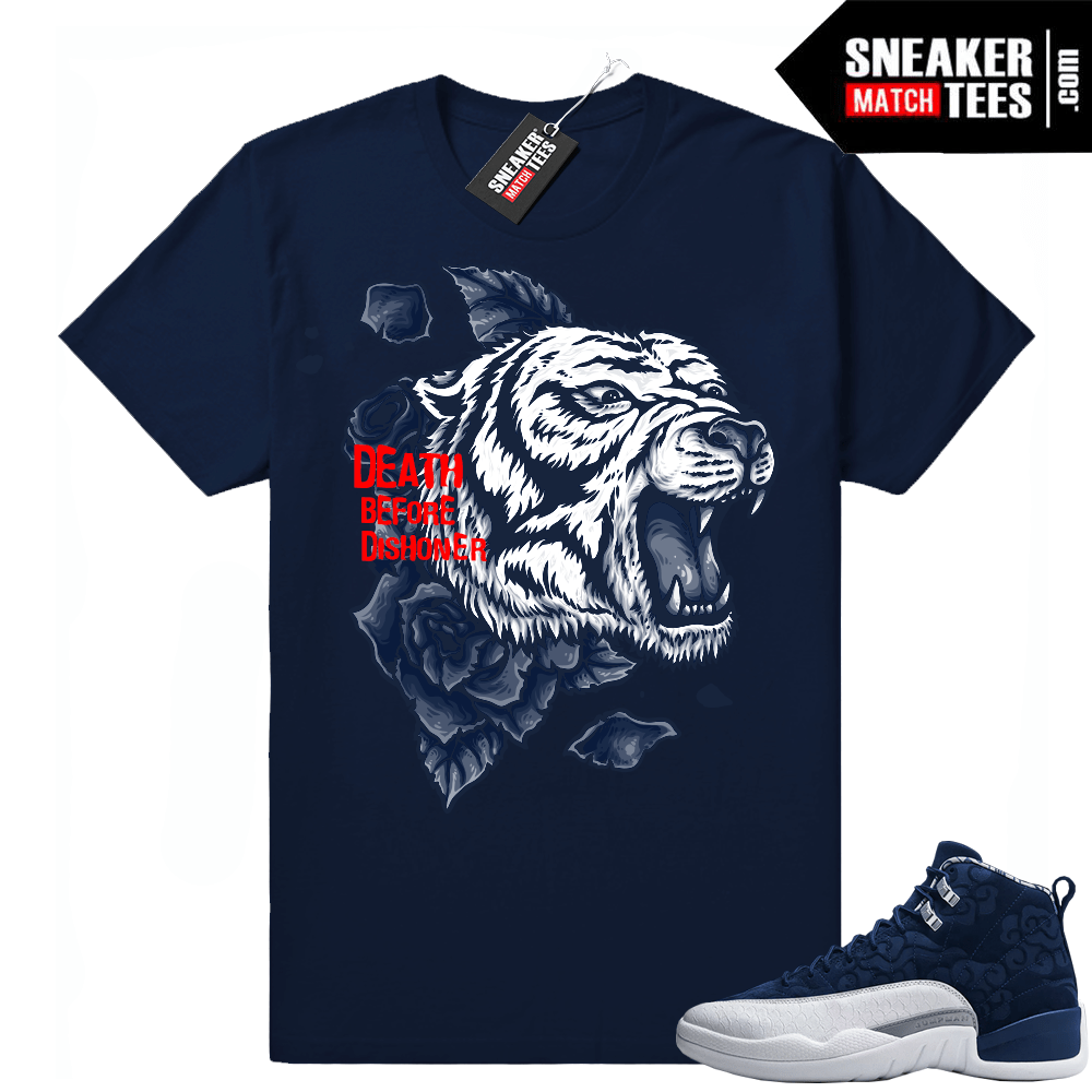 Retro 12 shirt match sneakers